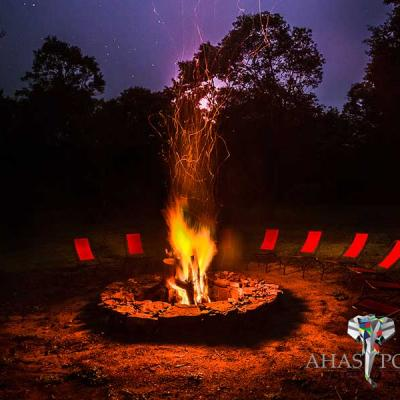 Ahaspokuna Bush Walks Camp Bon Fire
