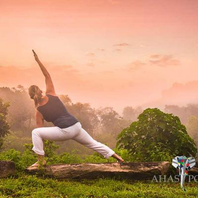 Ahaspokuna Bush Walks Camp Yoga